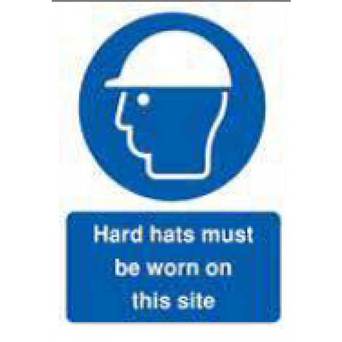 Hard Hats Must Be Worn On This Site