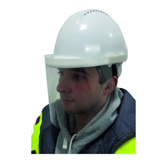 Lightweight Helmet Mounted Face Screen