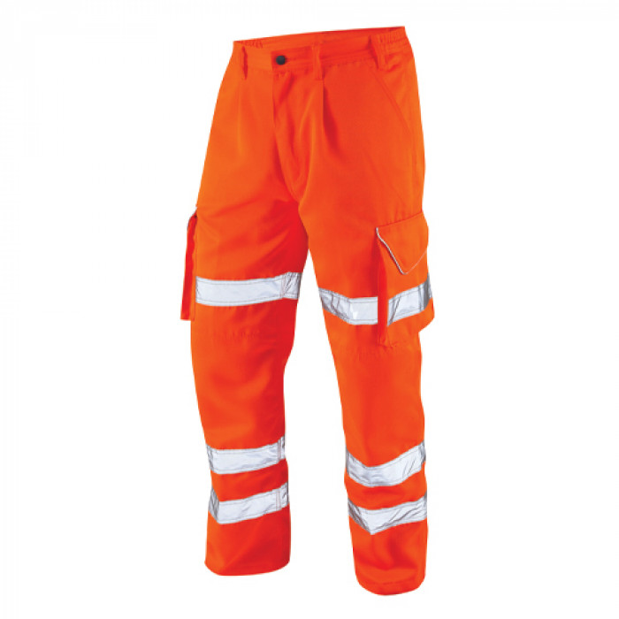 Polycotton Cargo Trouser - Orange