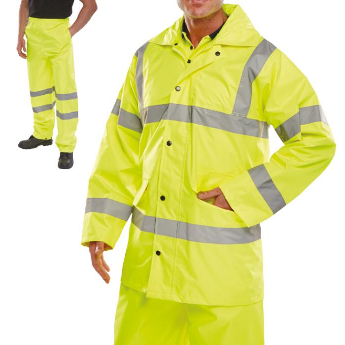 Heavy Duty HI Vis Wet Suit