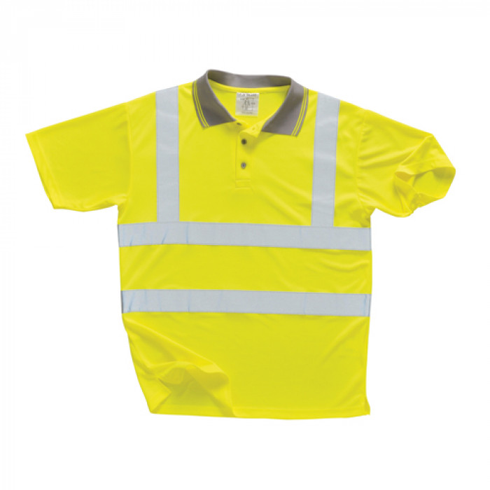 Short Sleeved Polo Shirt - Yellow