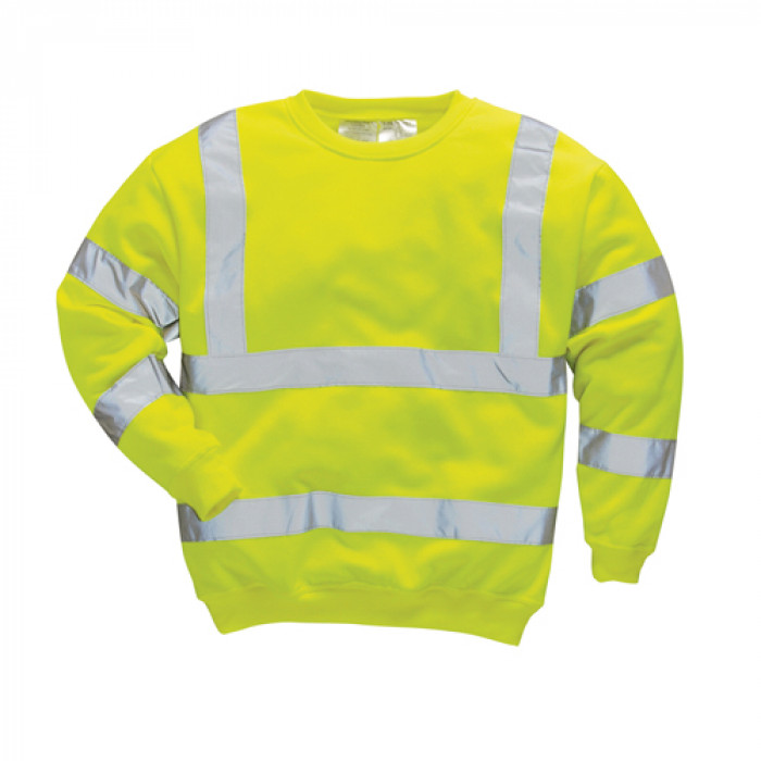 Classic Sweatshirt-Yellow