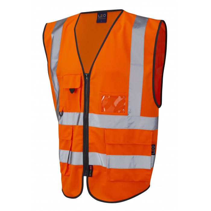 Hi Vis Executive Vest - Orange