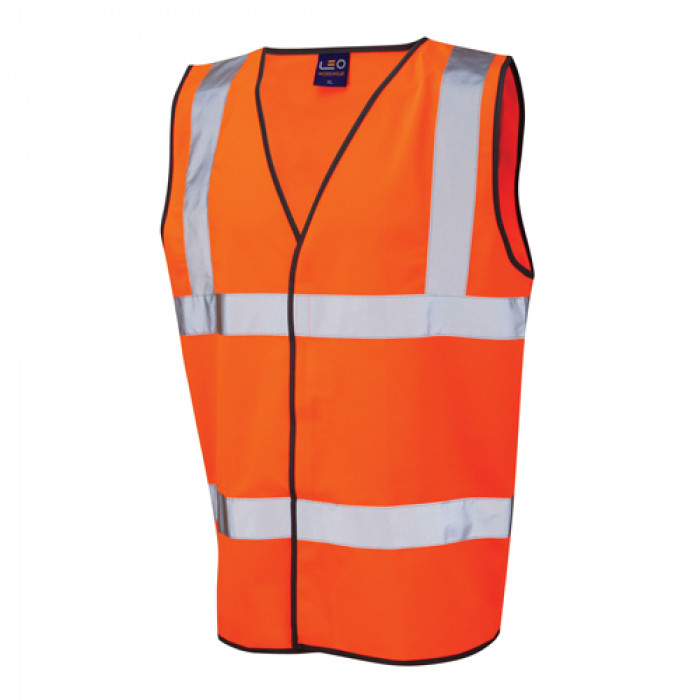 Hi Vis Executive Vest Orange