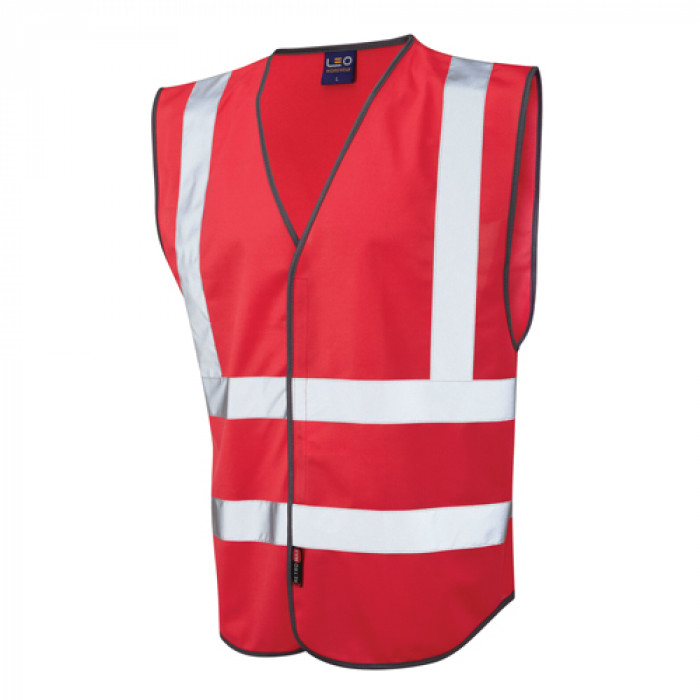 Coloured Vests - Red