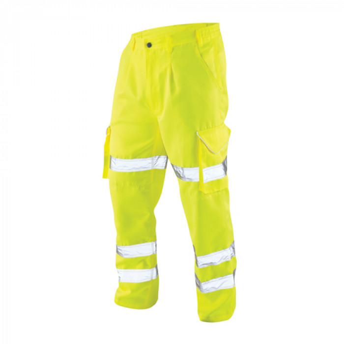 Polycotton Cargo Trouser - Yellow