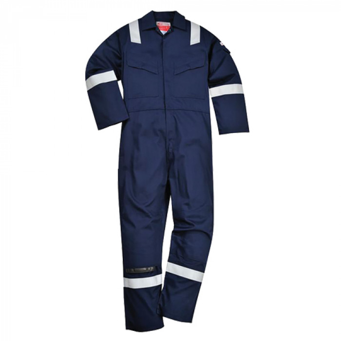 SUPER Lightweight 210gsm Flame Retardant & Anti-Static Coveralls