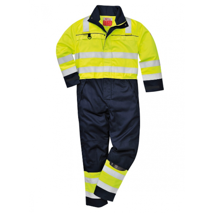 HW60 Hi-Viz Multi-Norm Coverall - Medium