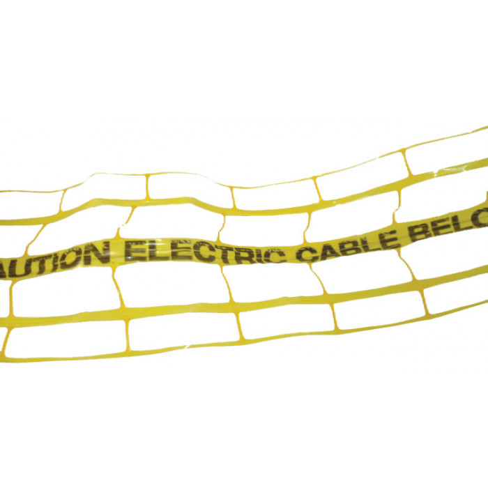 Hazard & Warning Tape - Electric Cable Below