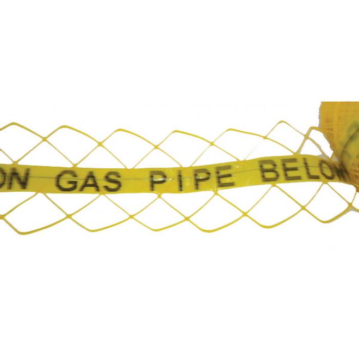 Hazard & Warning Tape - Gas Pipe Below