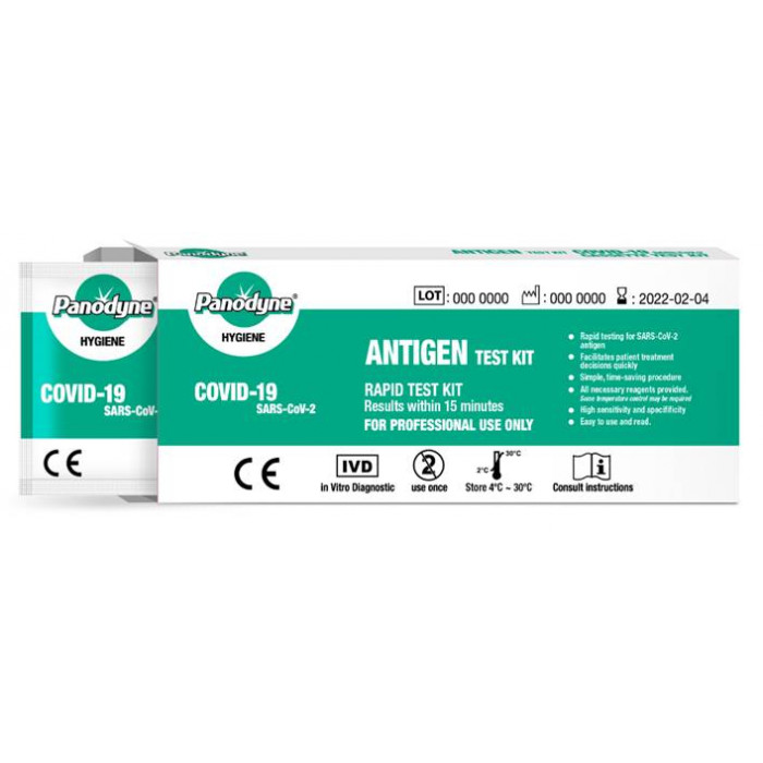 Panodyne Antigen Rapid Test Kit (COVID-19) - For Professional Use Only