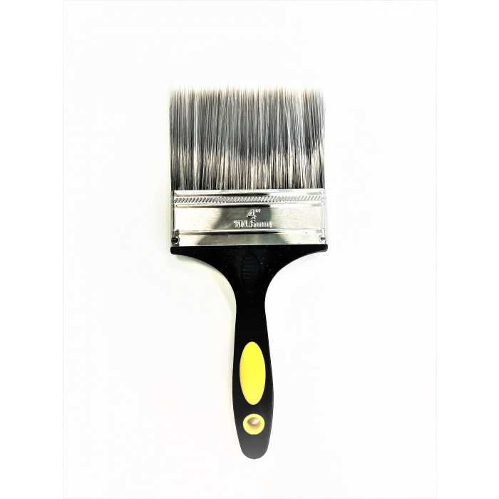 "4"" Professional Paintbrush - Plastic Handle"