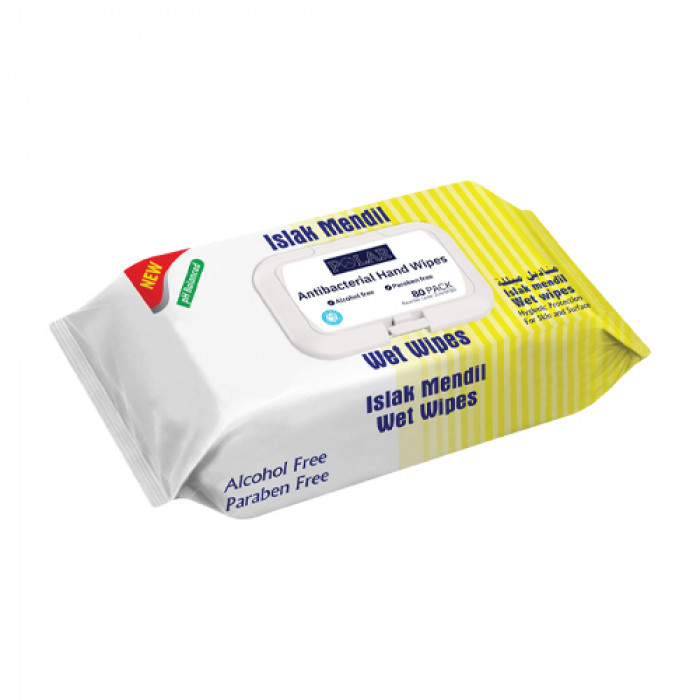 Alcohol-free hand wipes - 80 wipes per pack