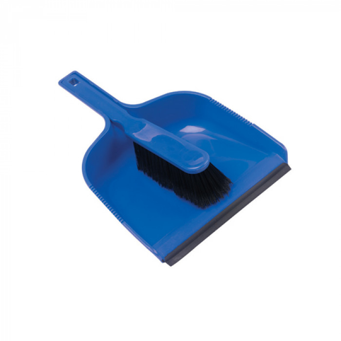 Plastic Dustpan & Brush
