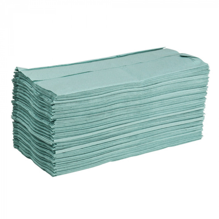 Green Paper Hand Towels - C-Fold