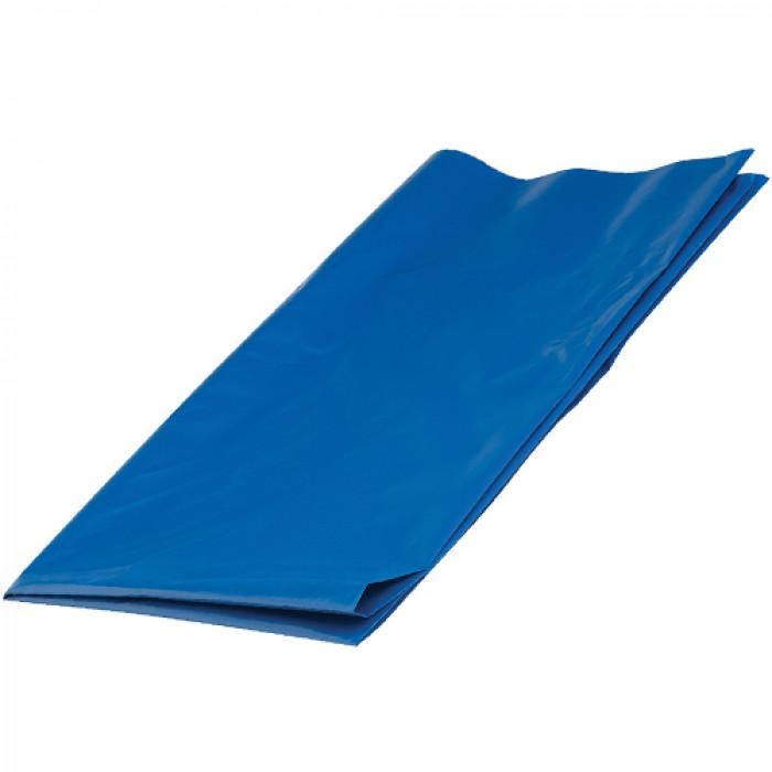 JLRUBLUE | Plastic Rubble Sack | Blue | Pack 100