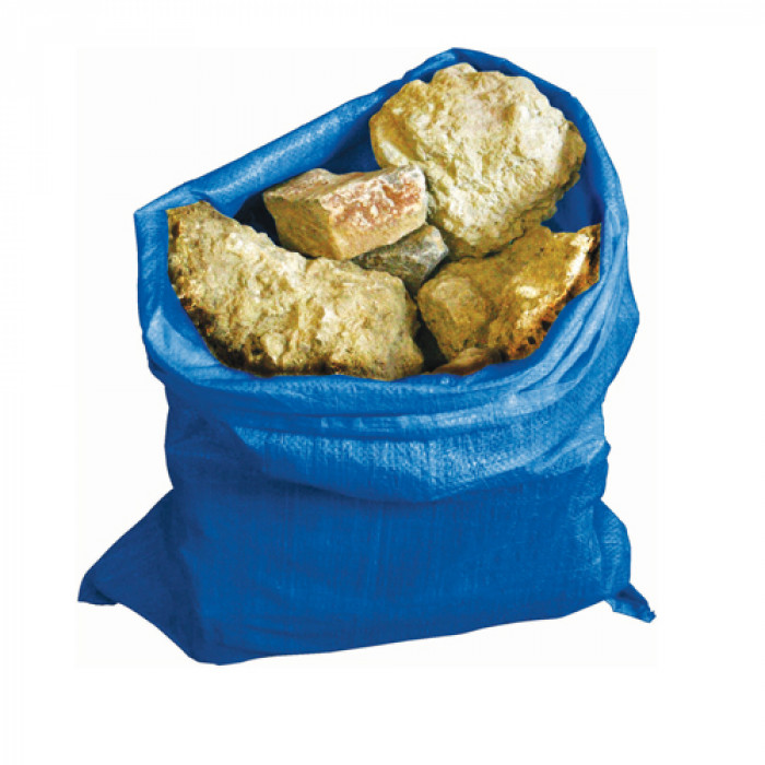 Blue Woven Rubble Sacks - Pack of 10