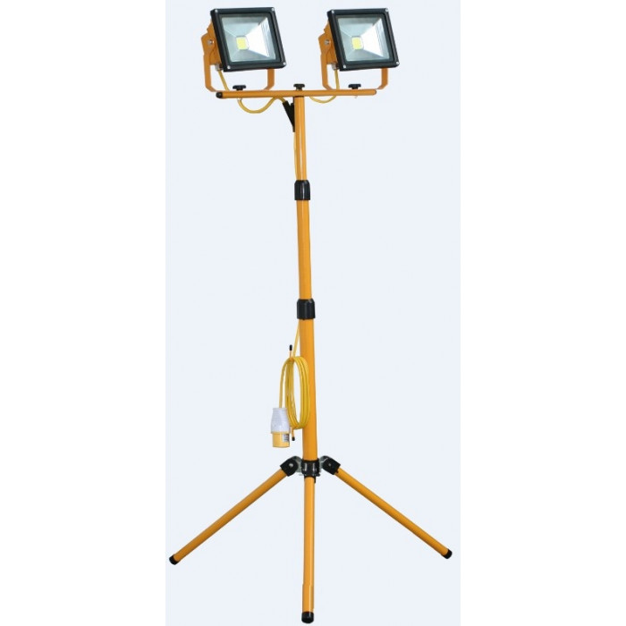 LED Double Head Tripod Light