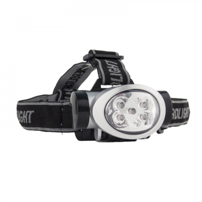 LED Rubber Head Torch