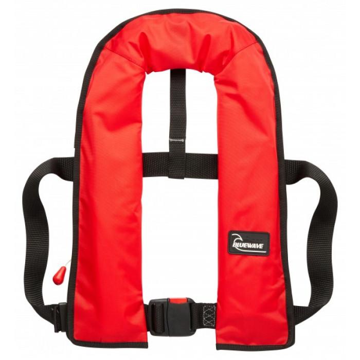 LJBRA150N | Bluewave 150N Red AUTOMATIC Lifejacket | CMT