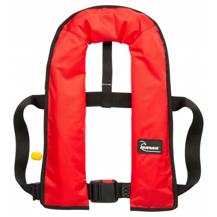 LJBRM150N | Bluewave 150N Red MANUAL Lifejacket | CMT