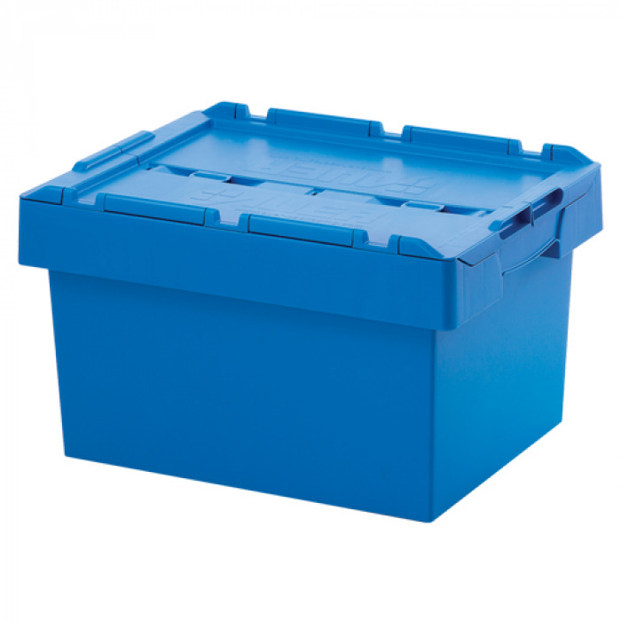 Auer Reusable Storage Container 60x40x34 Blue
