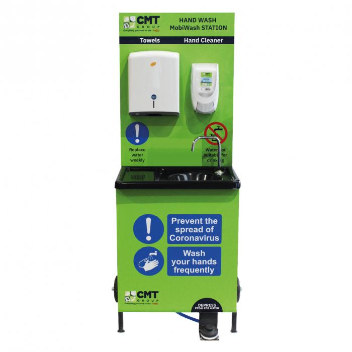 Mobile Hand Wash Sanitising Station