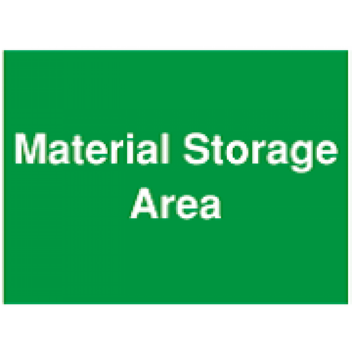 Material Storage Area