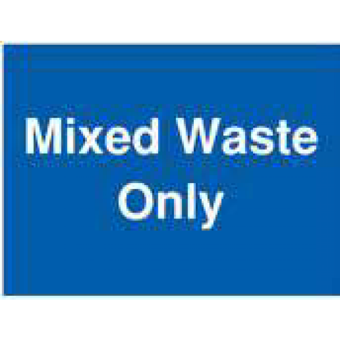 Mixed Waste Only