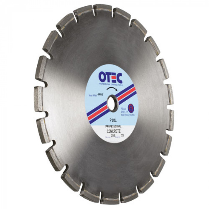 Otec Professional Diamond Blade - Concrete 12mm Wide
