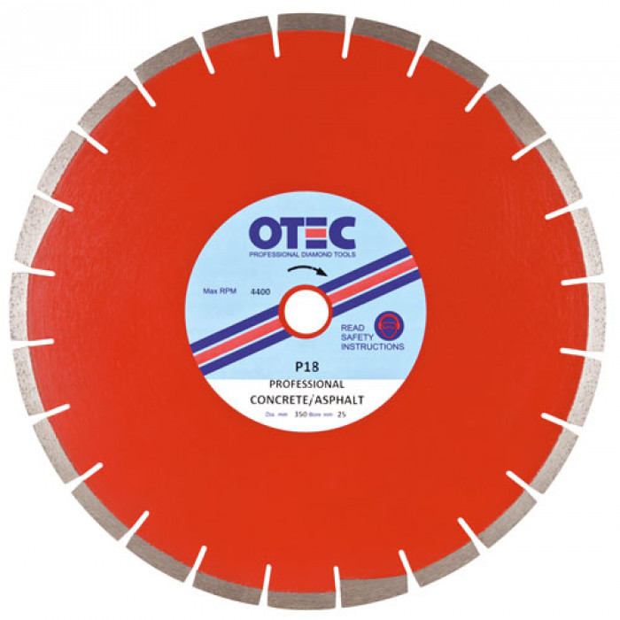 OTEC Prof Diamond Blade - Conc/Asphalt