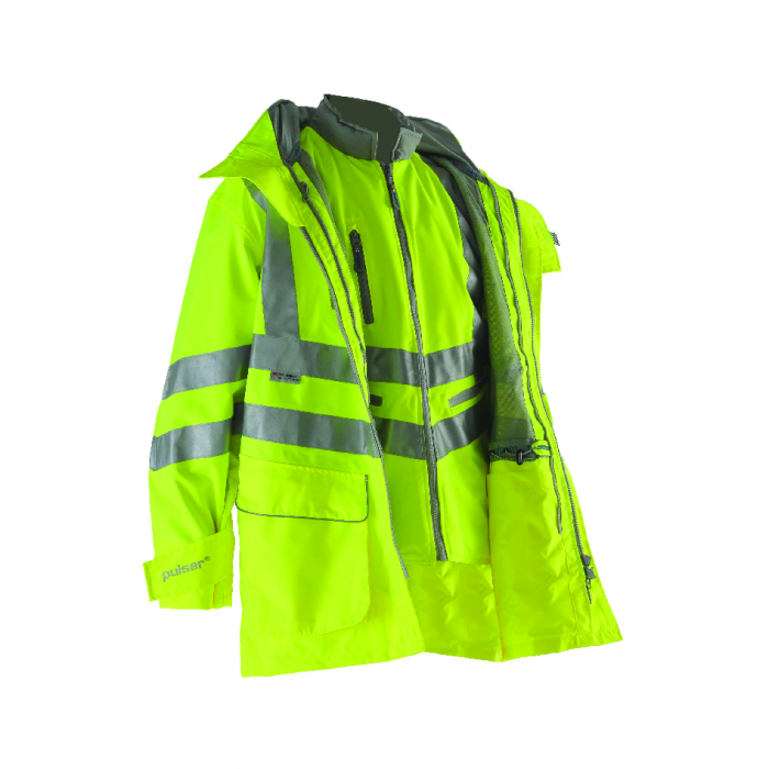 Pulsar 7-In-1 Yellow Storm Coat