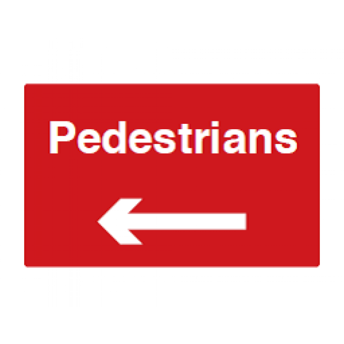Pedestrians (Left Arrow)