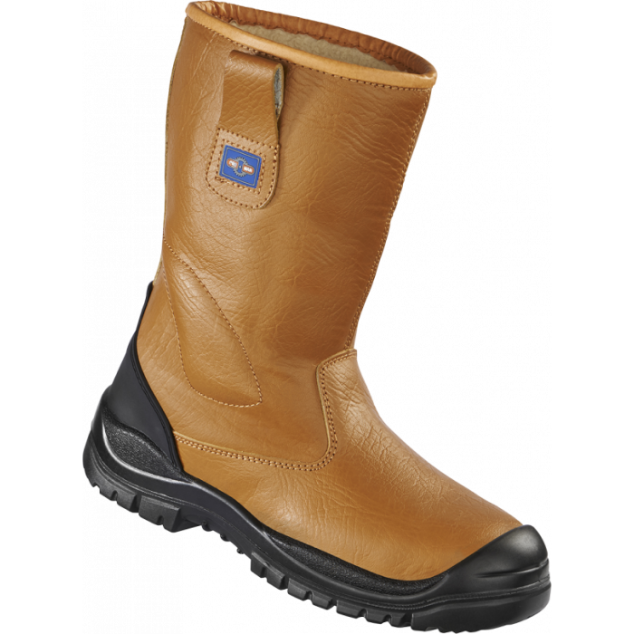 Tan Leather Rigger Boot