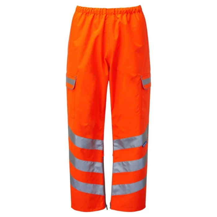Pulsarail Waterproof Over Trousers - Orange
