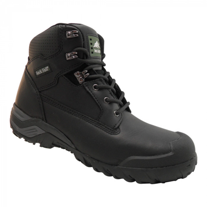 Rockfall Black Composite Safety Boot