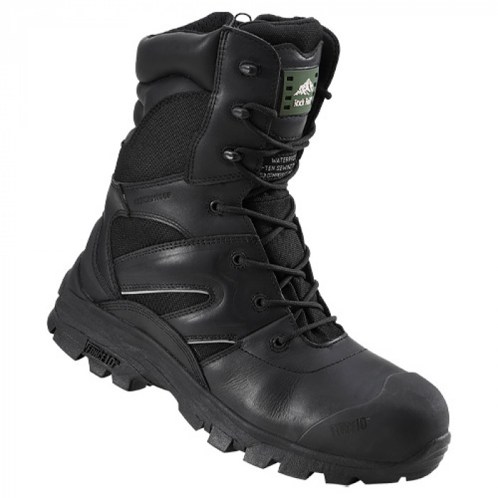 Rock Fall Titanium Boot