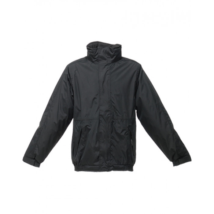 Regatta Dover Fleece-Lined Jacket (Black/Ash)