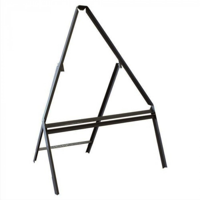 Metal Frame Only For Road Sign  - 750mm Triangle C/W Supp