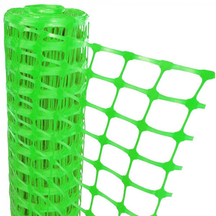 Green Mesh Barrier Fencing - 50m