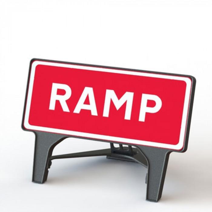 Plastic Road Sign Ramp