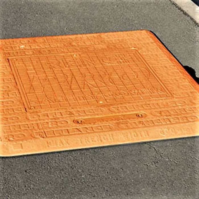 Temporary Anti-Slip Safe Trench Road Cover