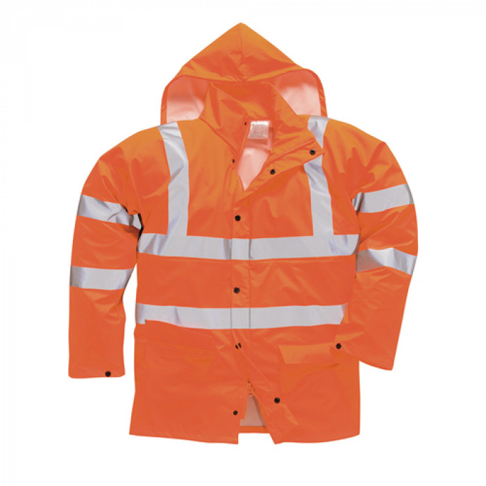 Sealtex Breathable Rain Jacket - Orange