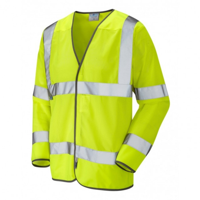 ISO 20471 Fremington Class 3 Coolviz hi viz Yellow Waistcoat - Medium