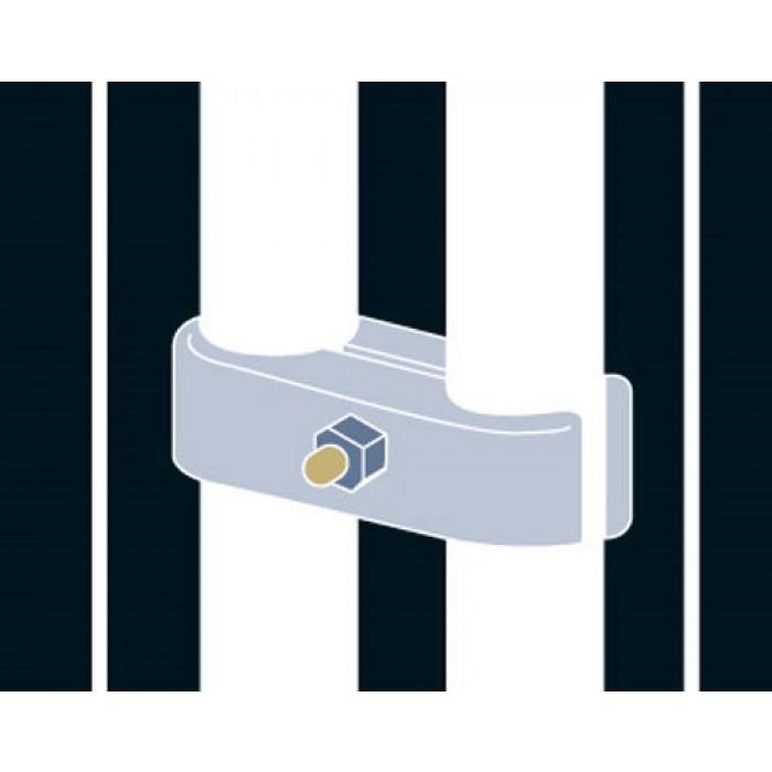 Securasite Coupler For Pedestrian Barrier