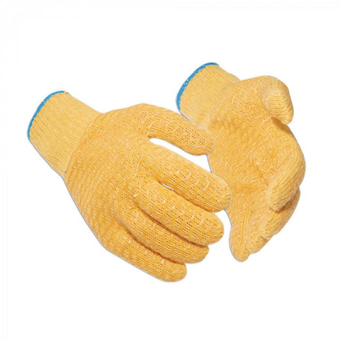 Orange Criss-Cross Glove - Size 10