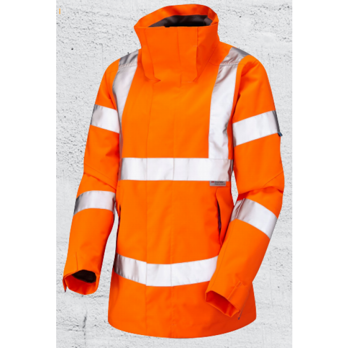 Hi Vis Womens Jacket LEO Workwear | CMT