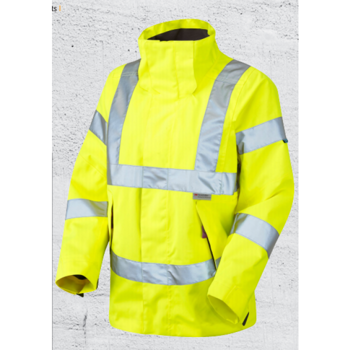 Yellow Hi Vis Jacket Womens | CMT
