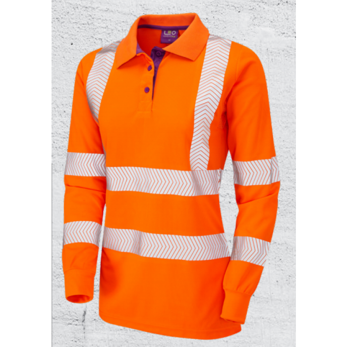 Hi Vis Womens Polo Shirt | CMT