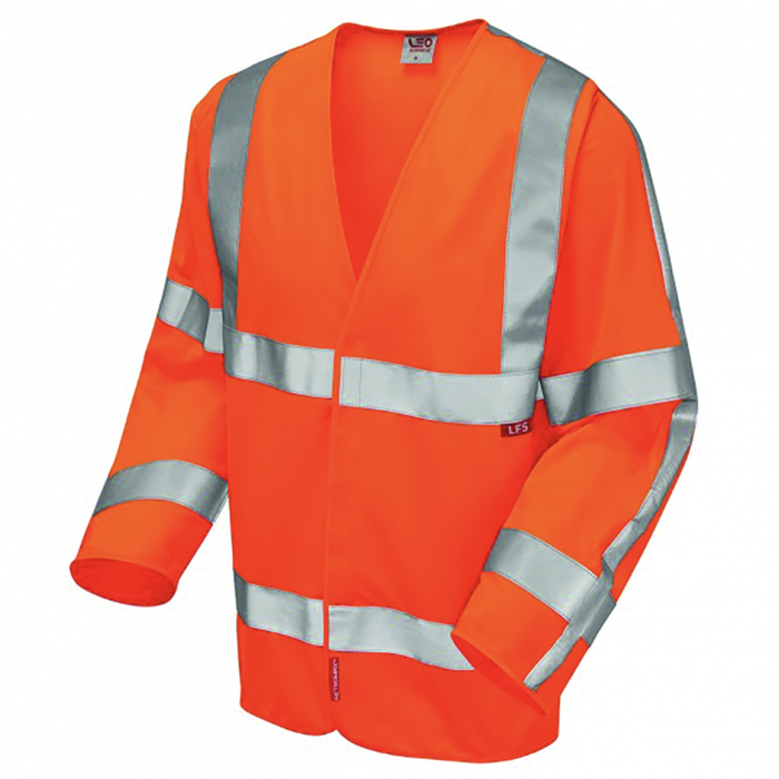 HW33 | Hi Vis Sleeved Waistcoat | Orange | Flame Retardant | CMT Group